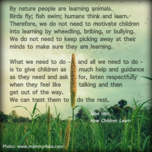 John-Holt-quotes-on-learning-Mommy-Labs
